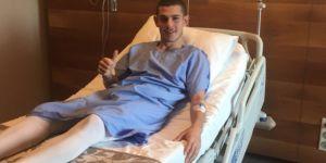 Beşiktaş'ın gençlerinden Ertuğrul Yazıcı ameliyat oldu