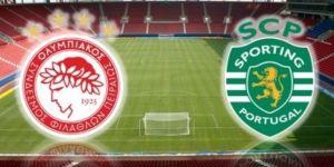 Sporting Lizbon - Olympiakos maçı internetten canlı izleniyor