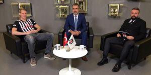 """Domagoj Vida: """"Alemin gözü yaşlı, Vida artık Beşiktaşlı"""""""