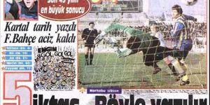 TARİHTE BUGÜN | Beşiktaş Fenerbahçe'yi ezdi, geçti!