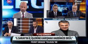 Fikret Orman: ''Beşiktaş'ı algı operasyonu ile yıpratamazlar''