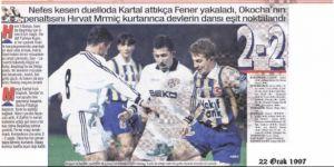 TARİHTE BUGÜN | Beşiktaş derbide berabere kaldı