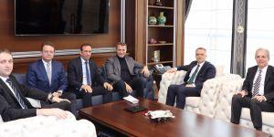 Kulüpler Birliği Vakfı'ndan Maliye Bakanı Naci Ağbal'a ziyaret