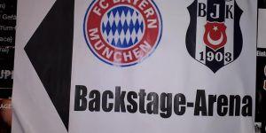 Beşiktaş ve Bayern Münih taraftarları dosluk yemeğinde bir araya geldi