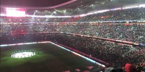 Allianz Arena Beşiktaş sesleriyle inledi!