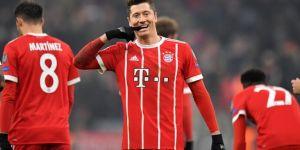 Maçın adamı Lewandowski oldu!
