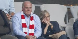 "Bayern Münih Başkanı Uli Hoeness: ""İkinci yarıda ritim bulduk."""