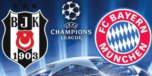 Beşiktaş - Bayern Munih maçı hangi kanalda, saat kaçta?