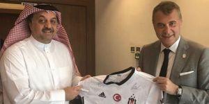 Fikret Orman Katar Savunma Bakanı ile bir araya geldi!