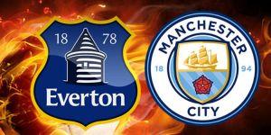 Everton - Manchester City maçı CANLI şifresiz izle