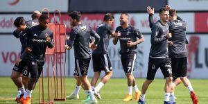 Beşiktaş, Akhisar maçı hazırlıklarını sürdürüyor
