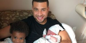 Kyle Weems ikinci kez baba oldu