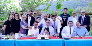 Hakan Özköse, Beşiktaşlılar Derneği'nin açılışına katıldı