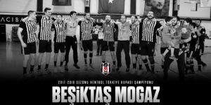 Hentbol Türkiye Kupası'nda şampiyon Beşiktaş Mogaz