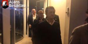Beşiktaşlı yöneticiler hastaneye akın ediyor