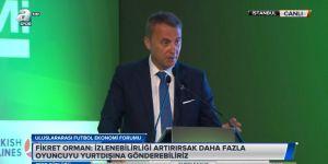 Fikret Orman Uluslararası Futbol Ekonomi Forumu'nda konuştu!