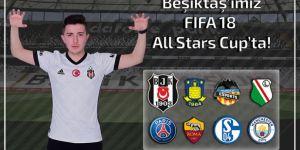 Beşiktaş Esports oyuncusu Burhan Yerli, FIFA18 Allstars Cup'ta boy gösterecek