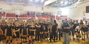 Beşiktaş Voleybol Okulları kış kapanış töreni ve voleybol şenliği yapıldı