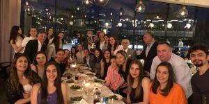 Beşiktaş U-18 Kız Basketbol Takımı şampiyonluk yemeğinde buluştu