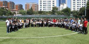 Beşiktaş Futbol Okulları Kış Kapanış Töreni yapıldı