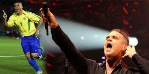 FIFA 2018 Dünya Kupası'nın açılış töreninde Robbie Williams ve Ronaldo sürprizi
