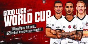 Beşiktaş'tan Pepe, Quaresma ve Vida'ya başarı mesajı!