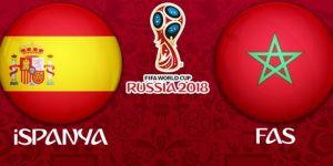 İspanya - Fas maçının 11'leri belli oldu!