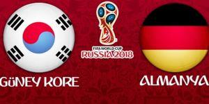 Güney Kore - Almanya maçının 11'leri belli oldu