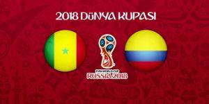 Senegal - Kolombiya maçının 11'leri belli oldu!