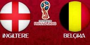 İngiltere Belçika'ya 1-0 mağlup oldu