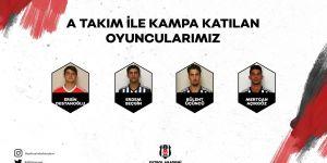 Beşiktaş'ın Slovakya kampına katılan altyapı oyuncularını yakından tanımaya ne dersiniz?