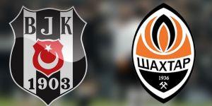 Beşiktaş - Shaktar Donetsk hazırlık maçı CANLI izle