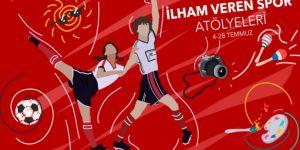 Beşiktaş JK Müzesi'nde ilham veren spor atölyeleri devam ediyor