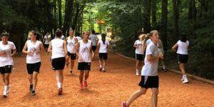Beşiktaş Kadın Futbol Takımı, kros çalışması yaptı