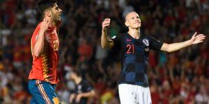 İspanya, Hırvatistan karşısında farklı kazandı