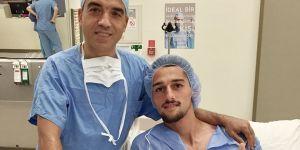 Sakatlık yaşayan Alpay Çelebi ameliyat oldu