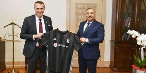 Fikret Orman'dan Cumhurbaşkanlığı İdare Başkanı Metin Kıratlı'ya ziyaret