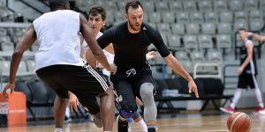 Beşiktaş Sompo Japan'ın derbi hazırlıkları sürüyor