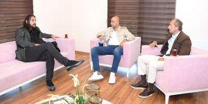 Beşiktaş Futbol Altyapı Koordinatörü Sead Dost'tan Tolunay Kafkas'a ziyaret