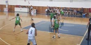Beşiktaş U-18 Kız Basketbol Takımından farklı galibiyet