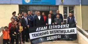 Tekirdağ Beşiktaşlılar Derneği'nden anlamlı etkinlik