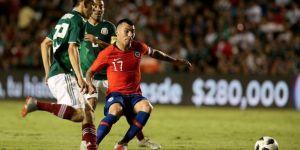 Şili, Meksika'yı son dakikada devirdi! Medel ve Roco 90 dakika oynadı...