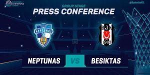 Neptunas - Beşiktaş Sompo Japan maçı CANLI izle