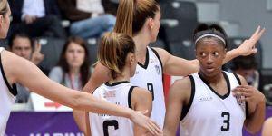 Beşiktaş Kadın Basketbol Takımından farklı galibiyet!