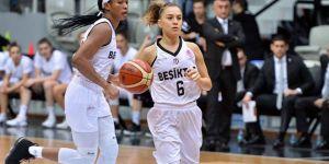 Beşiktaş Kadın Basketbol Takımı'ndan farklı galibiyet!