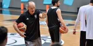 Beşiktaş Sompo Japan, Gaziantep Basketbol maçının hazırlıklarını sürdürdü