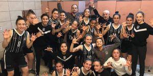 Beşiktaş'ın kızları Galatasaray'ı 30 sayı farkla yendi