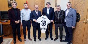 Beşiktaş Yönetimi'nden Kayseri Valisi'ne ziyaret
