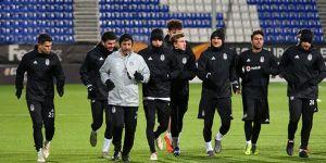 Beşiktaş, Sarpsborg maçı hazırlıklarını tamamladı