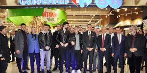 Fikret Orman, Şenol Güneş ve futbolcular açılışa katıldı